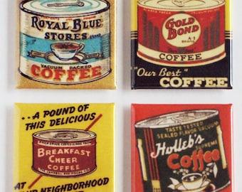 Coffee Can Fridge Magnet Set