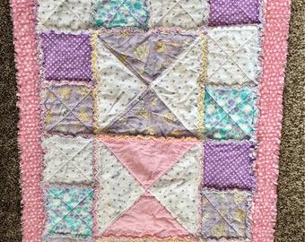 Soft Flannel Baby Rag blanket/Play Rug