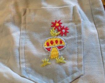 """Vintage Petite Hippie Jeans sz 24""""W x30"""" L in VG Condition"""