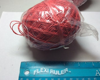Hemp cording 20 pound Red