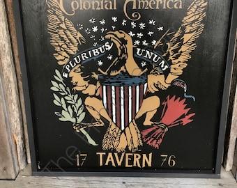 Colonial America Tavern, Colonial Tavern, Eagle Tavern, Early American Tavern