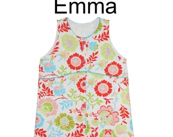 Childrens Corner Pattern / Emma Pattern / Girls Dress Pattern / Button Front / Large Sizes / Jumper Pattern / Children's Corner  256