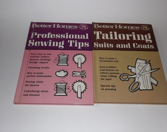 2 Better Homes and Gardens Vintage Sewing Books