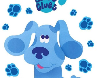 Blues Clues # 10 - 8 x 10 - T Shirt Iron On Transfer