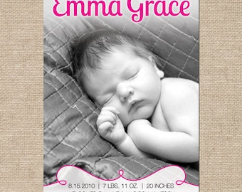 Emma Birth Announcement