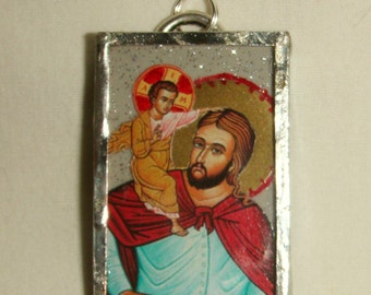 St Christopher Pendant inv1646
