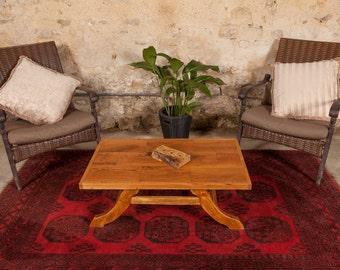 Oak top Coffee table