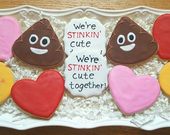 Emoji Cookies One Dozen