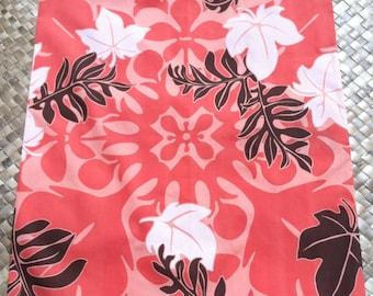 Hawaiian print dust covers, garment protectors