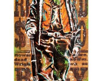 Billy the Kid - 12 x 18 High Quality Art Print