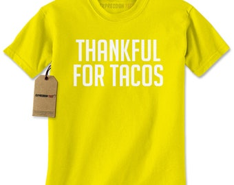 Thankful For Tacos Mens T-shirt