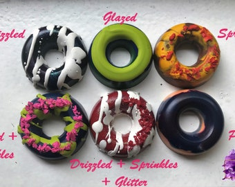 Deluxe Customizable Donut Crayons