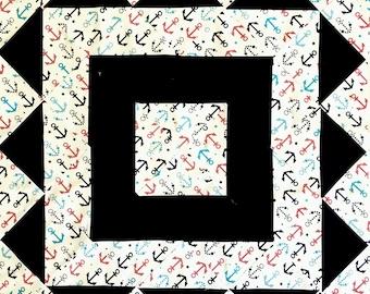 Drop Anchor quilt