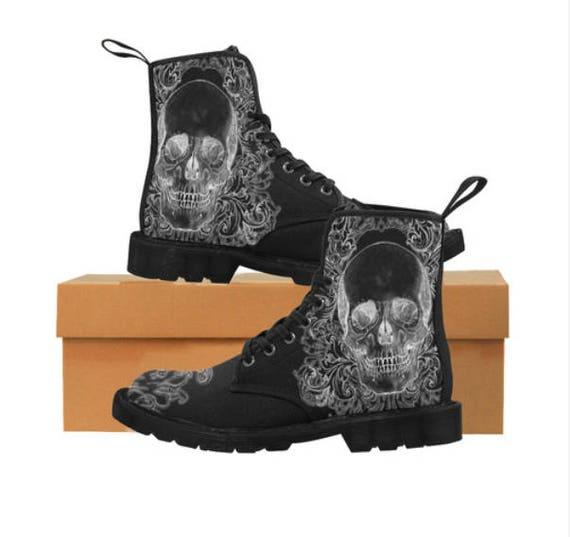 Baroque Skull boots Gents