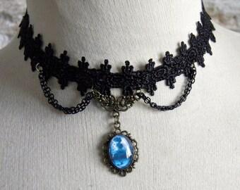 Necklace, Baroque, Victorian: watercolor