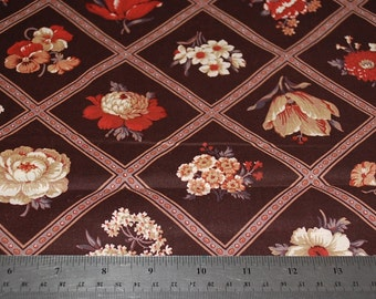 Joan Kessler Floral Large Print Quilt Fabric  - Sold by the 1/2 Yard