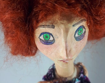 Dhalia OOAK Art Doll