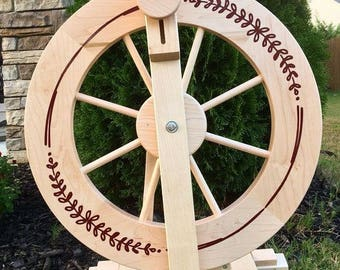 Spinning Wheel Decal