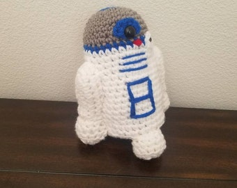 R2D2 , Crochet Little Droid, Starwars R2D2