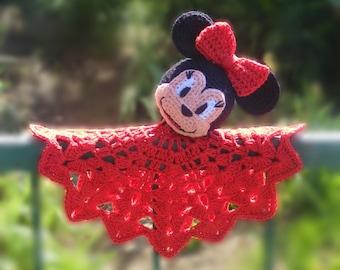 Amigurumi - Crochet Minnie Mouse Snuggle PDF pattern