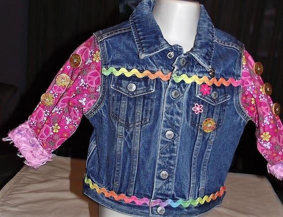 Refurbished Denim Infant Jackets, Size 2T