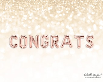 Congrats balloons etsy search results thecheapjerseys Images