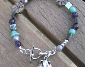 Custom Guinea Pig Charm Bracelet