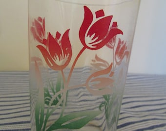 Vintage Tulip Jelly Glass
