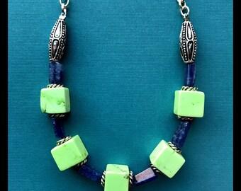 Funky Gemstone Necklace