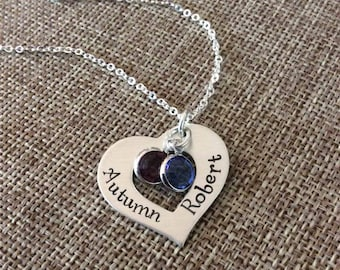 Personalized Mom Necklace, Grandma Necklace, Couples Necklace, Mom Gift, Grandma Gift Necklace, Couples Names Necklace, Kids Names Necklace