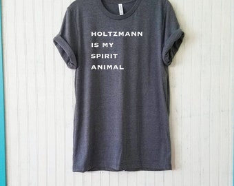 Holtzmann is My Spirit Animal Unisex Shirt, 2 Colors Available!, Ghost busters Jillian Holtzmann Men's Women's Fan Shirt