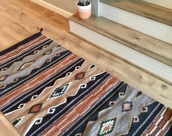 Handwoven Navajo Pattern Rug/Runner