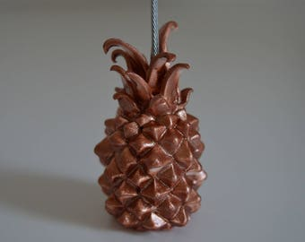 Photo - rose gold pineapple