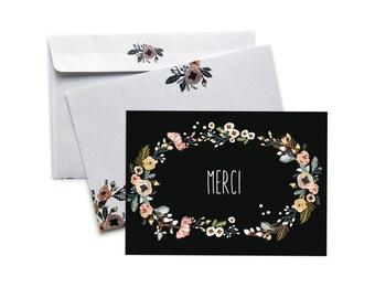 card + envelope - MERCI