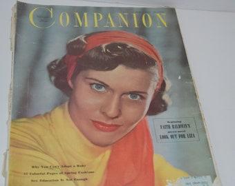 March 1950 Woman's Home Companion Magazine