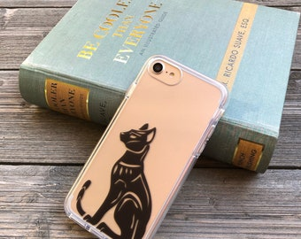 Black Panther Bast Idol Phone Case for iPhone 5, SE, 6, 6 Plus, 7, 7Plus, 8, 8 Plus and X. TPU or Wood Options
