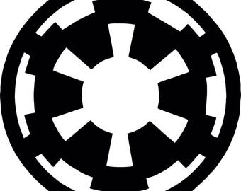 Star Wars Galactic Empire Logo Vinyl Decal