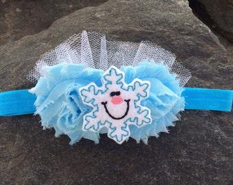 Snowflake Sparkle Baby Headband