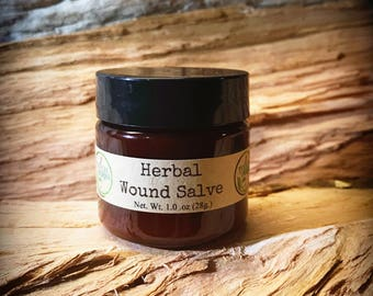 Healing salve - healing balm - wound healing - wound salve - wound care - herbal medicine - herbal infused - herbal healing salve - organic