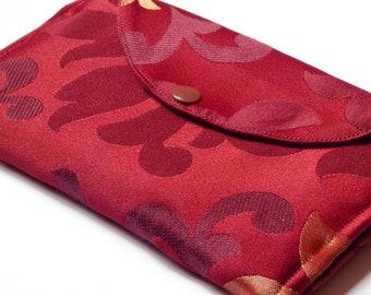 Fabric wallets, women wallets, wallet purses, hand made wallets