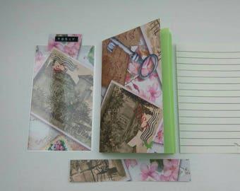 Insert, liner, notebook for travelers Notebook
