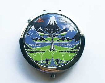The Hobbit Book Inspired Compact Mirror