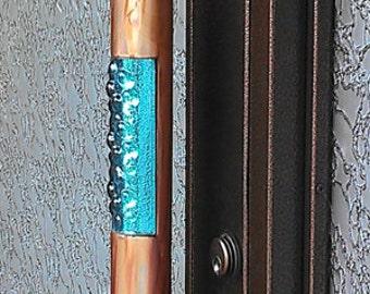 copper door pull