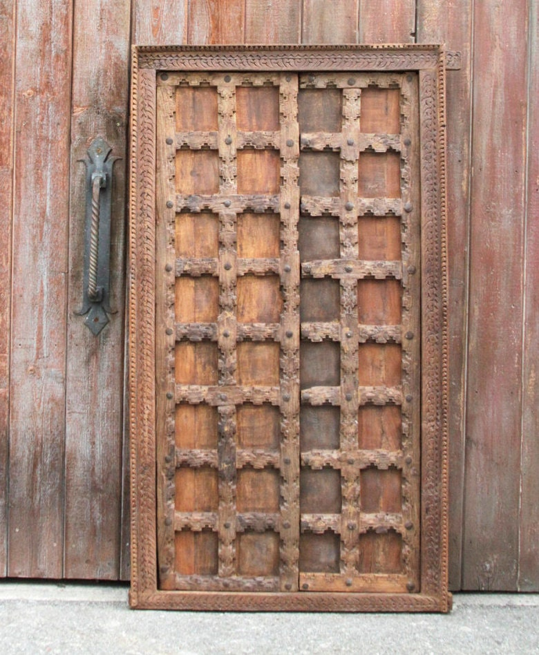 19th Century Moorish Doorcarved Door Old Door Old Door For