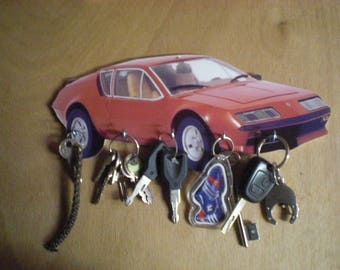 Alpine A310 wall Keychain / key hook wall alpine a310 Keychain, keys wall hang