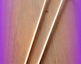 Bamboo knitting needles size 4 mm