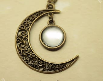 """Gealai"" Moon Celtic necklace"