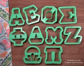 Greek Alphabet Cookie Cutters. Sorority Cookie Cutters. Alpha Cookie Cutter. Zeta Cookie Cutter. Pi Cookie Cutter. Omicron Cookie Cutter.