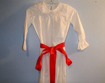 Swedish Saint Lucia Dress for Girls