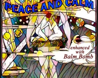 Peace & Calm w/ Balm Bomb - For Men / Unisex - Pheromone Enhanced Fragrance - Love Potion Magickal Perfumerie - Pherotine 2017